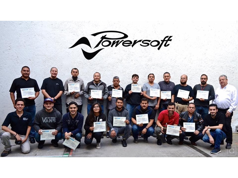 Capacitación Powersoft