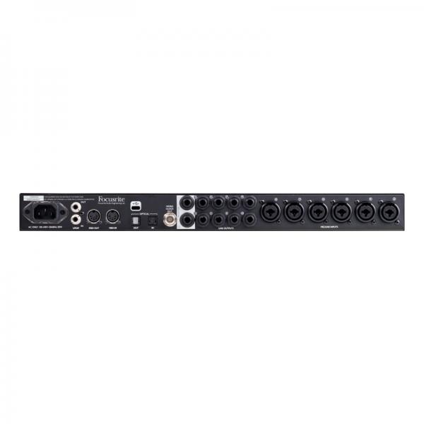 Clarett 8Pre USB (parte tracera)