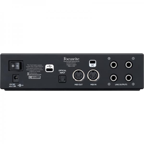 Clarette 2 Pre USB(atras)