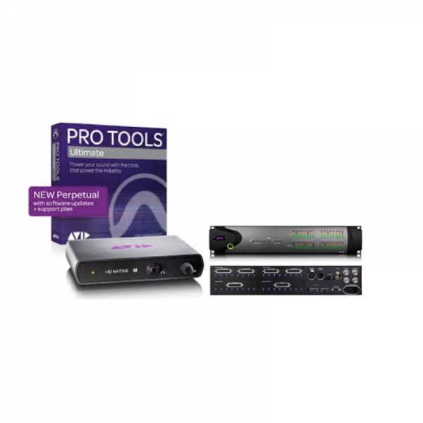 Native TB 2 + Pro Tools Ultimate + HD 8X8X8 ILOK